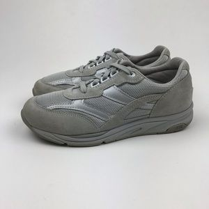 SAS Gray Journey Mesh Walking Comfort Sneakers